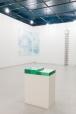 Elina Salminen. Le poème de la mer. Glass, wooden base, 42X58,4X80cm.2017.Moonens foundation