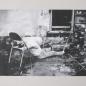 _ échec à la double lévitation _ (images volée) oil on cardboard / huile sur carton 27,1 cm x 40,8 cm (2015)