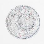 AB14, crayon-couture sur papier, 21x29.5 cm, 2013